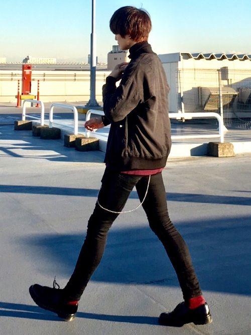 Kei Nikeのヘアバンドを使ったコーディネート メンズファッション