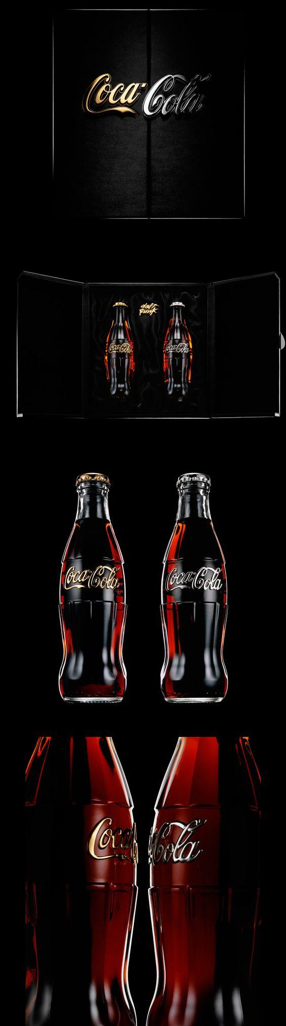 Embalagem de Coca Cola especial Daft Punk.