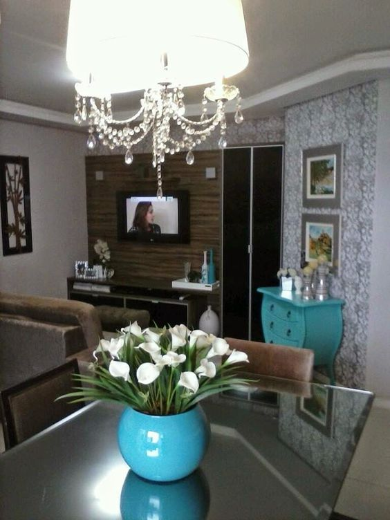 Construindo Minha Casa Clean: Apartamento Decorado da Leitora Janaina Cassis! Moderno e Aconchegante!