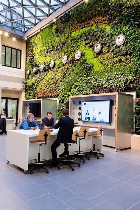 Steelcase inaugure un partenariat sur les espaces de for Espace de travail