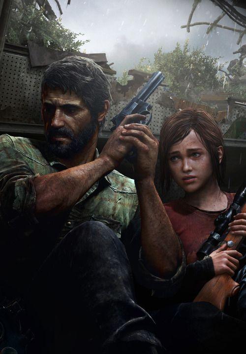 Ellie & Joel from The Last of Us - amazebawls game.