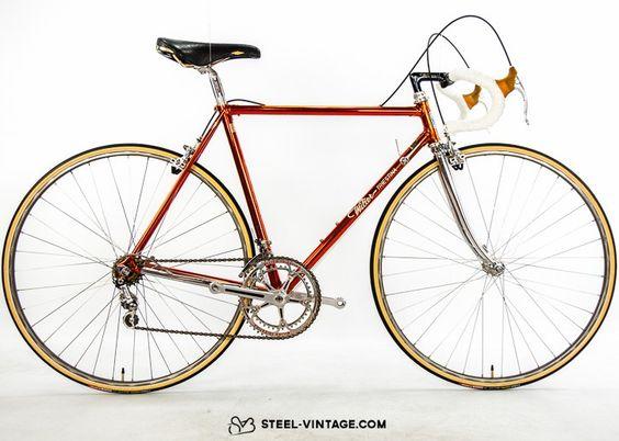 Steel Vintage Bikes - Wilier Triestina Cromovelato Classic Bicycle