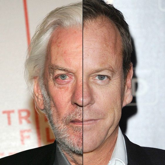 Donald And Kiefer Sutherland Finally Play Father And Son