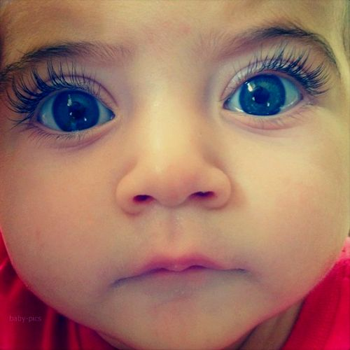 cutest baby with the longest eyelashes! | Little ...