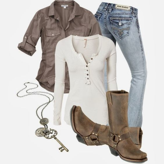 Casual Outfits^^ loveeee find more women fashion on misspool.com Minus the necklase