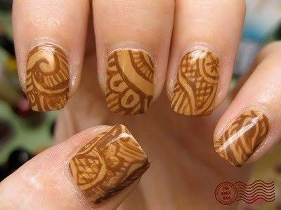 Nail polish designs--did