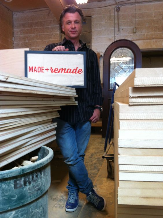 Stephen Fanuka is ready for Made + Remade! #maderemade