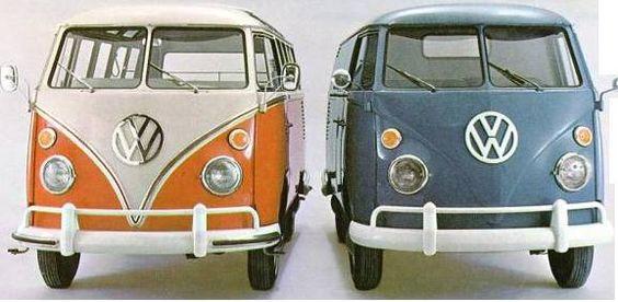 VW typ 241 y 211 1965