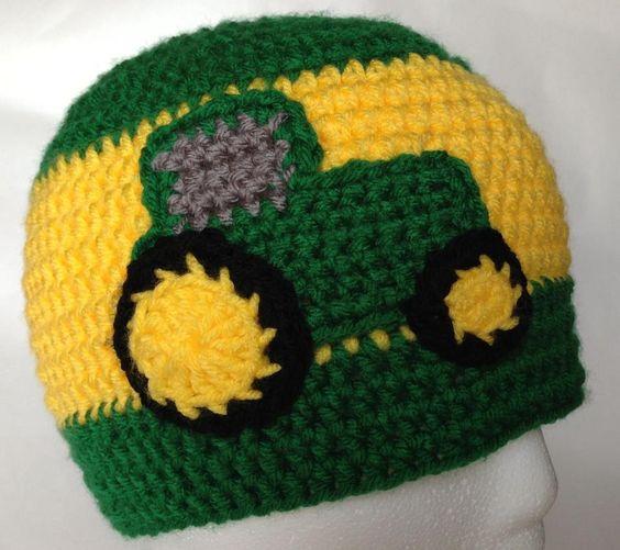 Deere Infant Hat Crochet Pattern : Pinterest The world s catalog of ideas