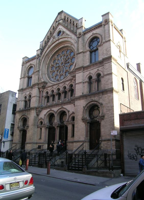 Eldridge St. Synagogue - NYC - History was made here.