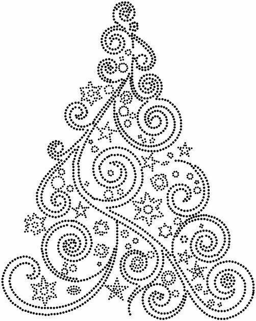 Pin By Joey Visser On 2019 Christmas Tree Painting Dot Art Painting Christmas Mandala