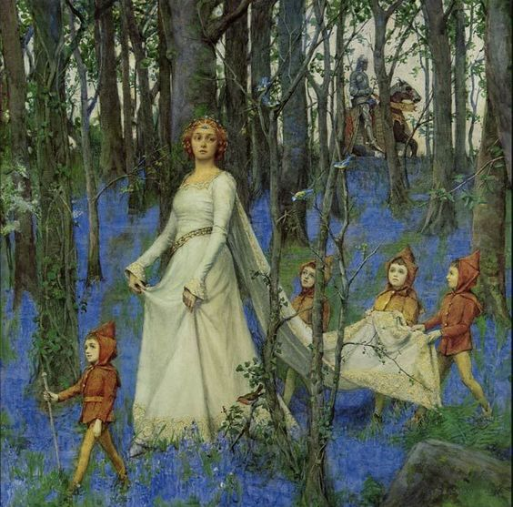 Henry Meynell Rheam: The Fairy Woods