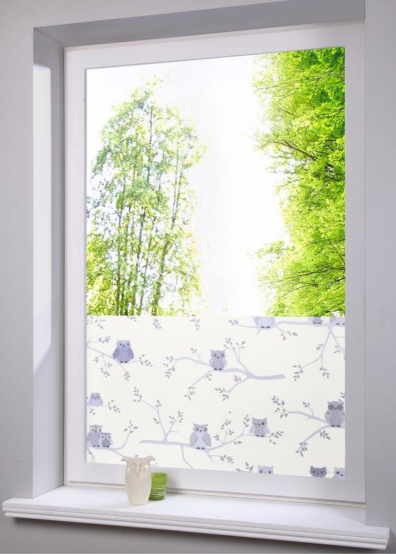 Fenster- Sichtschutzfolie