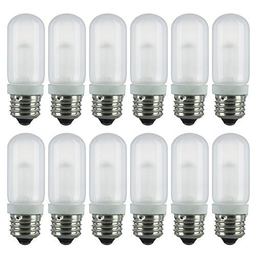 Sunlite 100t10halfr12pk 3200k Bright White Halogen 100w 120v T10 Single Ended Double Envelope Light Bulbs With Medium E26 Base 12 Pack F Light Bulbs Bulb Light