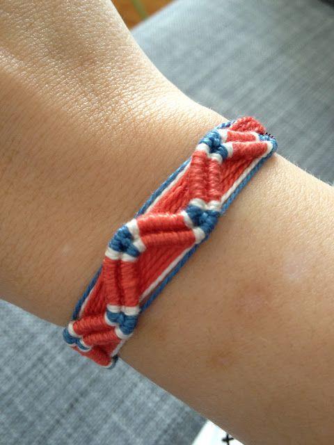 friendship bracelets names instructions