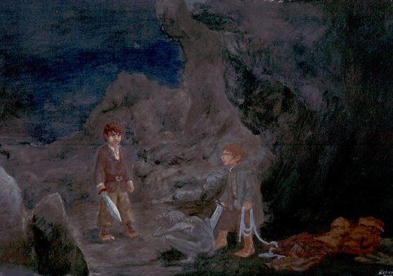 The Taming of Smeagol by Pika-la-Cynique.deviantart.com on @deviantART