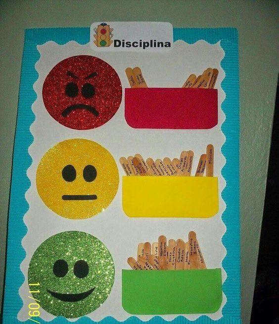 Semaforo de conducta classroom pinterest for Normas de comportamiento en el restaurante escolar