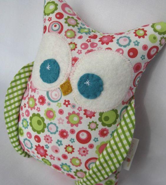 Owl that matches Kaia's Bedding