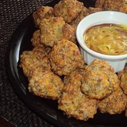 One Two Three Sausage Balls Allrecipes.com