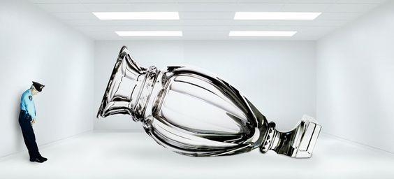 Baccarat vase amphora | jean marc gady