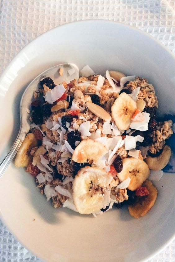 Ioanna's Notebook - Easy Granola recipe: