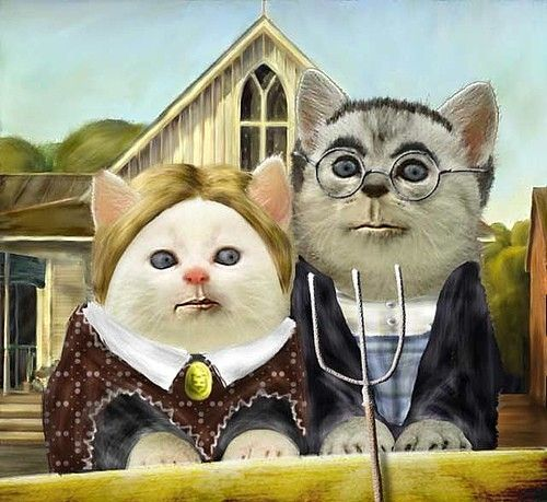 Gothic kitties by angelica:
