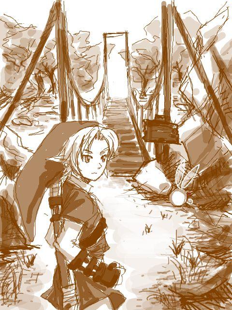 TEGAKI Blog // Link // 青菜G3 // Ocarina of Time