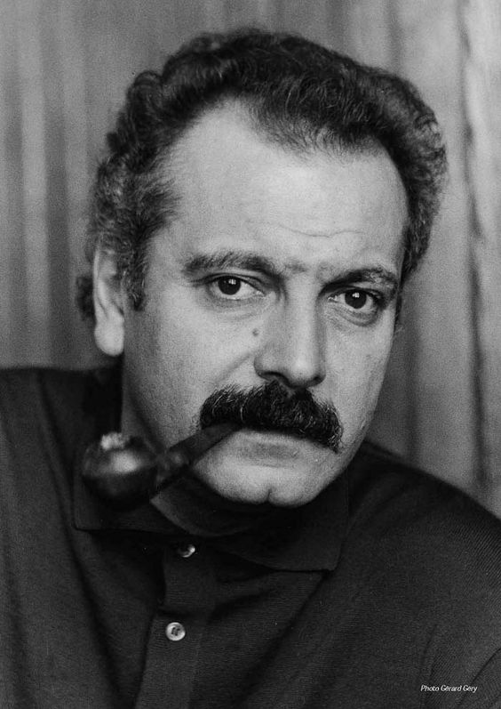 Georges Brassens (1921-1981) - French singer-songwriter and poet. Photo Gerard Géry