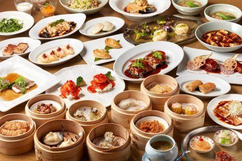飲茶 中華 中国料理 チャイナルーム 六本木の高級ホテル レストラン グランドハイアット東京 飲茶 食べ物のアイデア 肉寿司