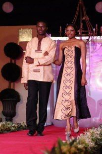 African kitenge fashion for Couples