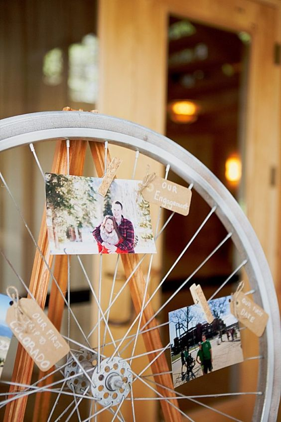 Bicycle Themed Silverthorne Colorado Wedding with Yellow Details