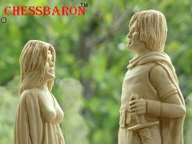 Lord of the Rings Chess Pieces @ChessBaron.co,uk