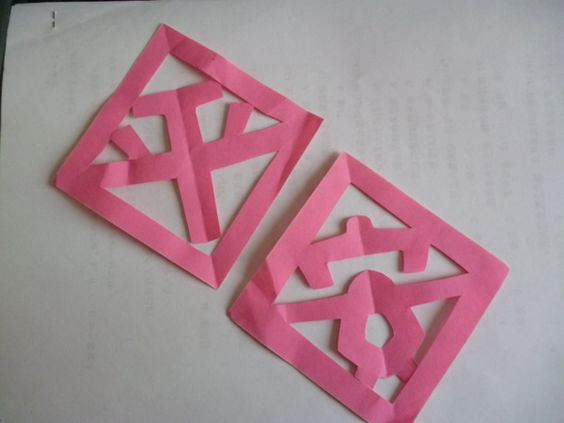 Cut paper designs for cny cny red envelopes lanterns for Ang pao origami