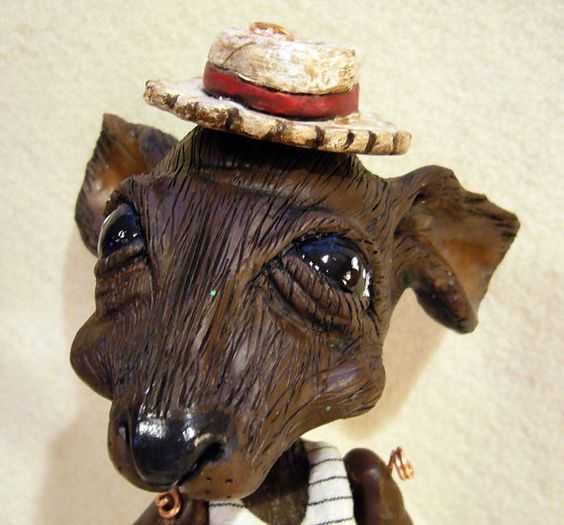 Ratty Marionette from Wind in the Willows by Susan Taaffe