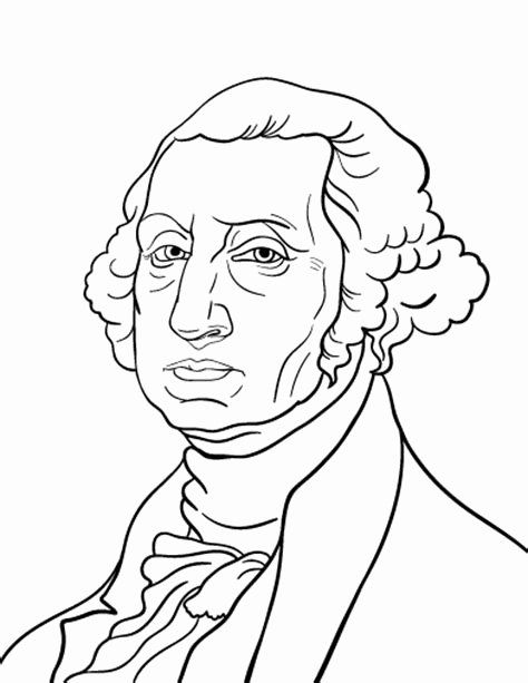 George Washington Coloring Page Coloring Pages George