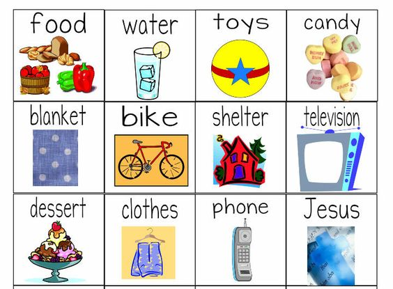 Quot Needs Versus Wants Quot Worksheets Object Lesson For