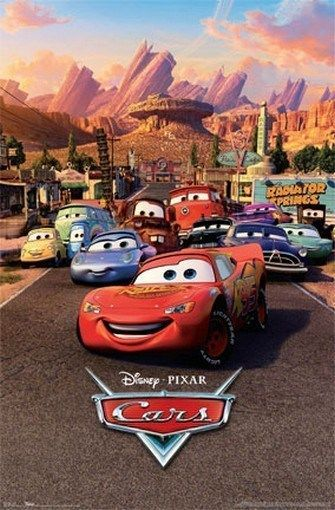 Details about DISNEY PIXAR CARS FAMOUS Movie Poster - NEW 24X36 ...