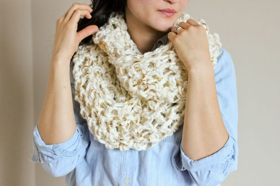 Crocheting Infinity Scarf For Beginners : ... infinity scarves infinity crochet infinity scarf crochet scarf crochet