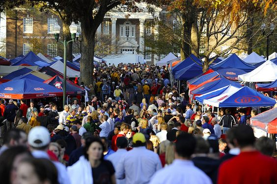 Anyone who has been there can tell you- there is nothing like the Grove at Ole Miss on a football day.