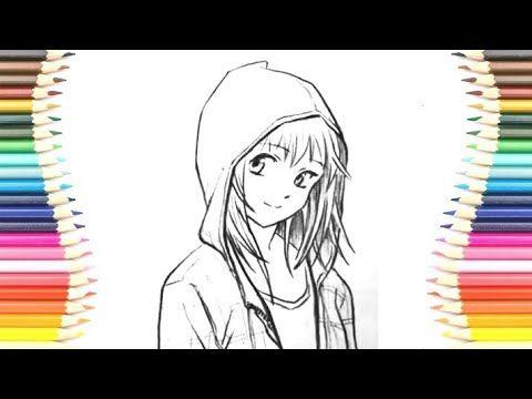 رسم سهل تعلم الرسم رسم بنات سهل جدا تعليم رسم بنات خطوة بخطوة للمبتدئين Youtube Art Anime