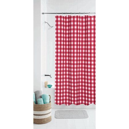 Home Red Shower Curtains Fabric Shower Curtains Blue Shower