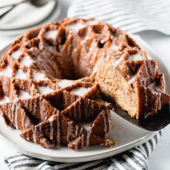 Sour Cream Coffee Cake Made With Pamela S Baking And Pancake Mix The Best Gluten Free Coffee Cake Sour Cream Coffee Cake Coffee Cake Yummy Cakes
