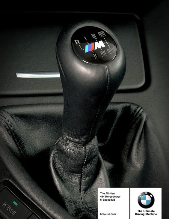I drive a BMW a Stick shift, and i love driving rash and fast under controlled environments. (male identity) Also driving a stick shift is a unique skill.