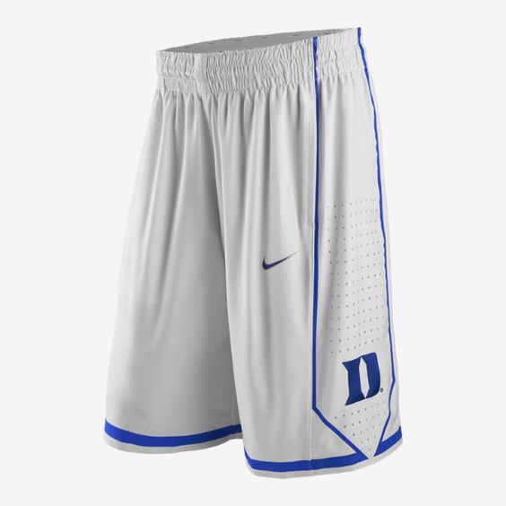 Nike College Authentic (Duke) Men's Basketball Shorts (With