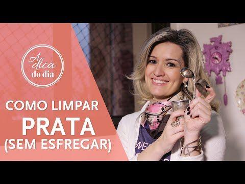 COMO LIMPAR PRATA (FÁCIL) | A DICA DO DIA COM FLÁVIA FERRARI - YouTube