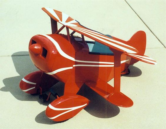 *PITTS ~ Pedal Plane Plans