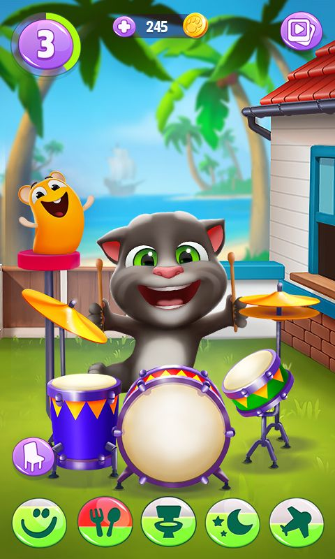 My Talking Tom 2 Appstore For Android In 2021 My Talking Tom Talking Tom Game Pictures