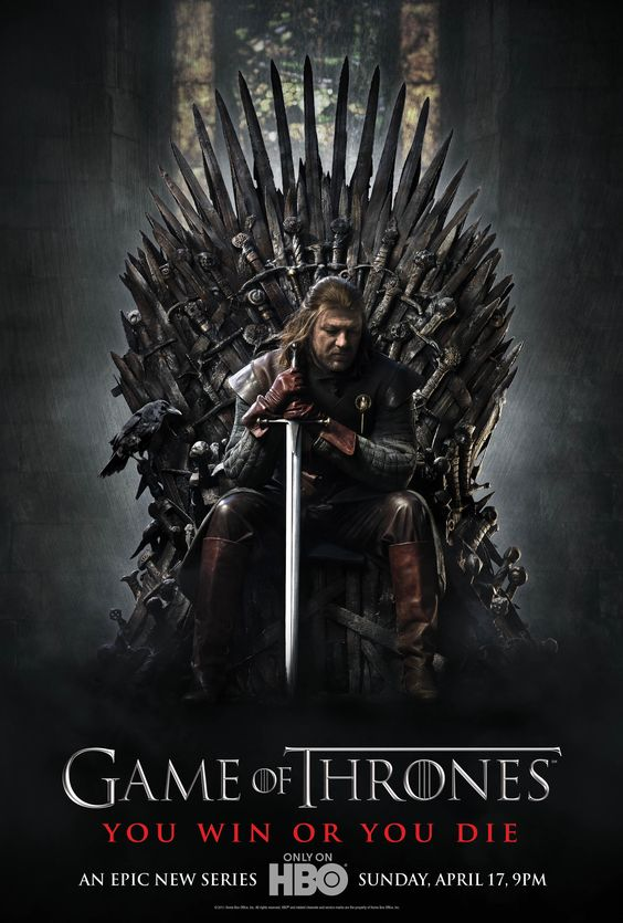 """Watched the first season of """" Game of Thrones"""" and it is addictive. The characters are brilliant, the show is unmisssable and the writers never play it safe, you never know when one of your favourite characters might not make it!"""