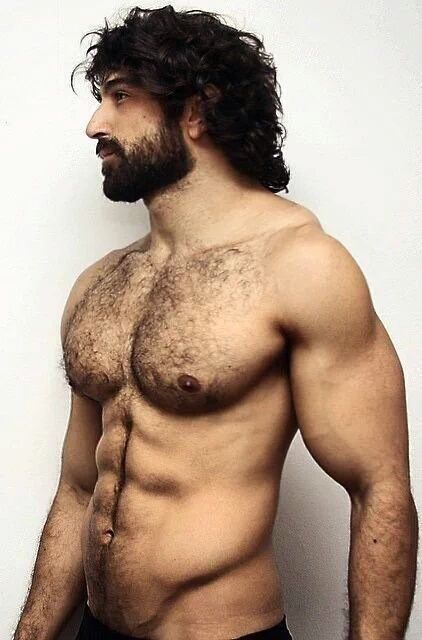 Hairy Naked Greek 43