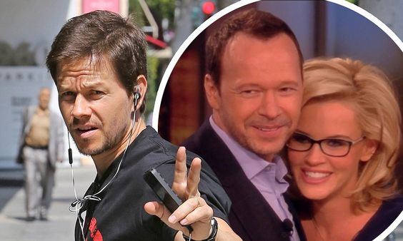 Mark Wahlberg flashes peace sign following big bro Donnie's engagement http://dailym.ai/P5RdLj #DailyMail